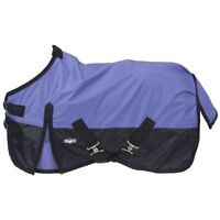 Tough-1 420D Waterproof Turnout Sheet with Crossed Surcingles and 70D Lining