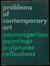 Georges Vantongerloo: Paintings, Sculptures, Reflections. Wittenborn, NY 1948