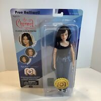"Mego Charmed PRUE HALLIWELL Figure 8"" Doll NEW, Sealed, Limited"