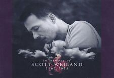 "SCOTT WEILAND MEMORIAL FRIDGE MAGNET 5"" X 3.5"""