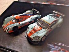 Scalextric Aston Martin Racing Lola 007 & DBR9 009 GULF C3055A New*