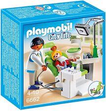 Kinder PLAYMOBIL Zahnarzt Arzt Ausrüstung Spiel Figure City Life Game
