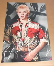Billy Idol Promotional 1987 Original Poster RARE 22 x 34