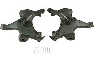"""Belltech 2400 Spindles Ductile Iron 2"""" Drop Chevy GMC C1500 Pickup Pair"""