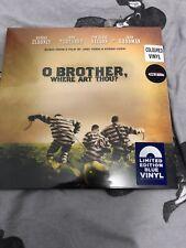 O BROTHER, WHERE ART THOU?- LIMITED EDITION BLUE VINYL- NEW/SEALED- HMV EX