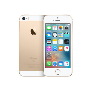 Apple iPhone SE - 16GB 4G LTE GSM World Phone - Gold (Factory Unlocked)