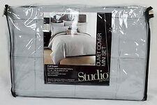 JCPenney Studio JCP Home Chroma 3-Piece Full/Queen Duvet Cover Set - Modern Gray