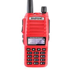 5W Dual Band Red Color BAOFENG UV-82 Professional Ham Amateur Radio Transceiver