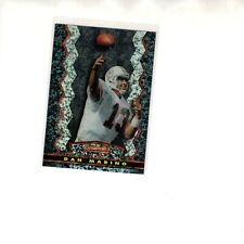 1994 STADIUM CLUB BOWMAN'S BEST REFRACTOR  #4 DAN MARINO DOLPHINS