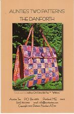 THE DANFORTH SEWING PATTERN, Bags, Purses, & Totes From Aunties Two NEW