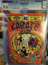 Karate Kid #1 (3/76) CGC 9.6 ** WHITE PAGES **