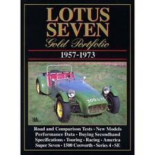 LOTUS Seven Oro PORTFOLIO 1957-1973 BOOK LIBRO