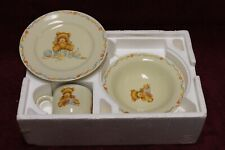 Baby's first dishes Hallmark collectible Bowl Plate Cup