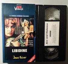 LIBIDINE Raniero Di Giovanbattista - VHS Shendene