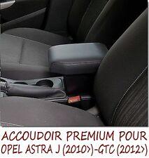 OPEL ASTRA J - GTC - ACCOUDOIR PREMIUM - VAUXHALL -NOIR -ARMREST- MITTELARMLEHNE