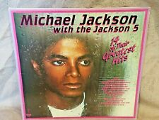 """MICHAEL JACKSON WITH JACKSON 5""""14 OF THEIR GREATEST HITS""""LP VTG RETRO COLLECTOR"""