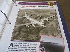 Faszination 7 16 Douglas C 54 Skymaster Transporter Luftbrücke Berlin