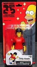 "The Simpsons 25 Years Greatest Guest Stars TONY HAWK 5"" Figure New! (Skateboard)"
