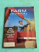 Vintage October 1963 Farm Journal American Agriculture News Magazine Farming