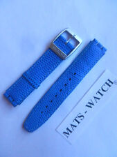 SWATCH + Irony Scuba + ayds 4000 SUPERBLU +17 mm + PELLE + NUOVO/NEW