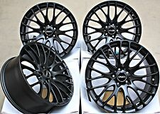 "19"" CRUIZE 170 MB ALLOY WHEELS MATT BLACK CROSS SPOKE 5X110 19 INCH ALLOYS"