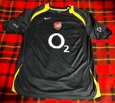 Vintage Arsenal Nike Total 90 Soccer Futnol Jersey Mens Sz L