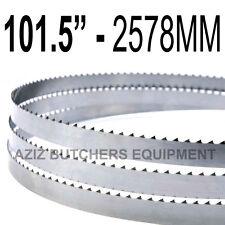 "Butchers Meat Bandsaw Blades (10 Pack). 101.5"" (2578mm) X 1/2"" X 4tpi"