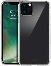 """XQISIT Phantom Glass Case for iPhone 11 6.1"""" Clear Hard Back Cover"""