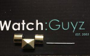 MICHAEL KORS Runway Pyramid Replacement Gold Tone Watch Link & Pin MK5795
