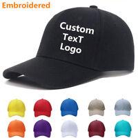 New Personalized Custom Made Logo Unisex Baseball Hats Caps summer sun visor