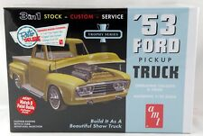 1:25 Scale '53 Ford Pickup Truck 3-in-1 Plastic Model Kit (Skill 2) - AMT 882/12