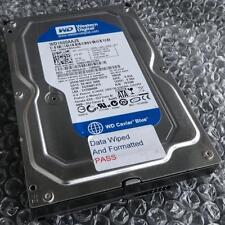 """160gb Caviar Blue Western Digital WD 1600 AAJS - 75m0a0 SATA 3.5"""" Hard Drive (d225)"""