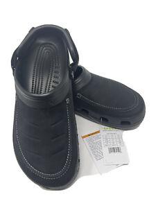 Crocs Yukon Vista ll Clogs Black Men's SIZE  11 or 13