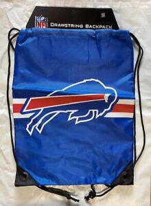 Buffalo Bills  Drawstring Back Pack NEW Back Sack Free Shipping