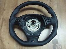 Abgeflacht Lederlenkrad BMW E90, E91  NEU LEDERRBEZUG Steering Wheel 3-375-E90-1