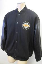 mens LEE B/U XL TAMPA 2001 SUPER BOWL XXXV 35 WOOL LEATHER JACKET COAT CLEAN