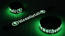 Blessthefall NEW! Glow in the Dark Rubber Bracelet Wristband Hollow Bodies vg186