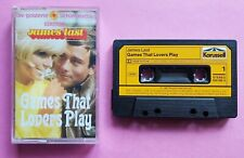 Cassette James Last ‎– Games That Lovers Play Karussell ‎– 829 588-4 Tape K7