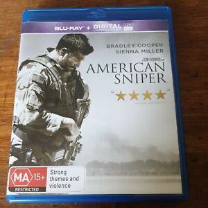 American Sniper Blu-Ray LIKE NEW! FREE POST