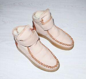 KARMA OF CHARME Womens Bohemia Leather Shoes Boots Size EU39 US9