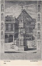 Old Engraving of Old Cross, GLOUCESTER, Gloucestershire