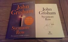 Sycamore Row Trunk Limited Edition Facsimile signature John Grisham HB Book 1st
