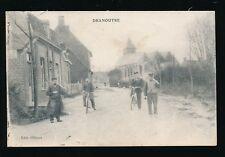 Belgium West Flanders DRANOUTRE + locals c1900s? PPC