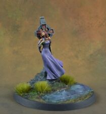Painted Nocturna from Nocturna Models resin miniature, female