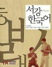 Sogang Korean 1a Student Workbook With CD