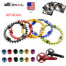 SNAIL 104BCD 30T Bike MTB Chainring Narrow Wide Round Single Sprocket Bolts
