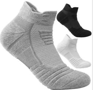 3 pairs Sport Ankle Athletic Running Socks Low Cut Sports Tab Socks for men