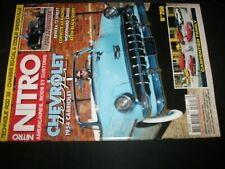 ** Revue Nitro n°250 Chevrolet Corvette 1960 / Chevrolet Bel Air 1954 cabriolet