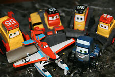 "DISNEY PIXAR CARS  ""6 FIRE JUMPER SET - PLANES FIRE & RESCUE"" LOOSE, SHIP WW"