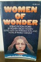 Women Of Wonder, Pamela Sargent, 1974, 1975 Vintage Paperback Science Fiction